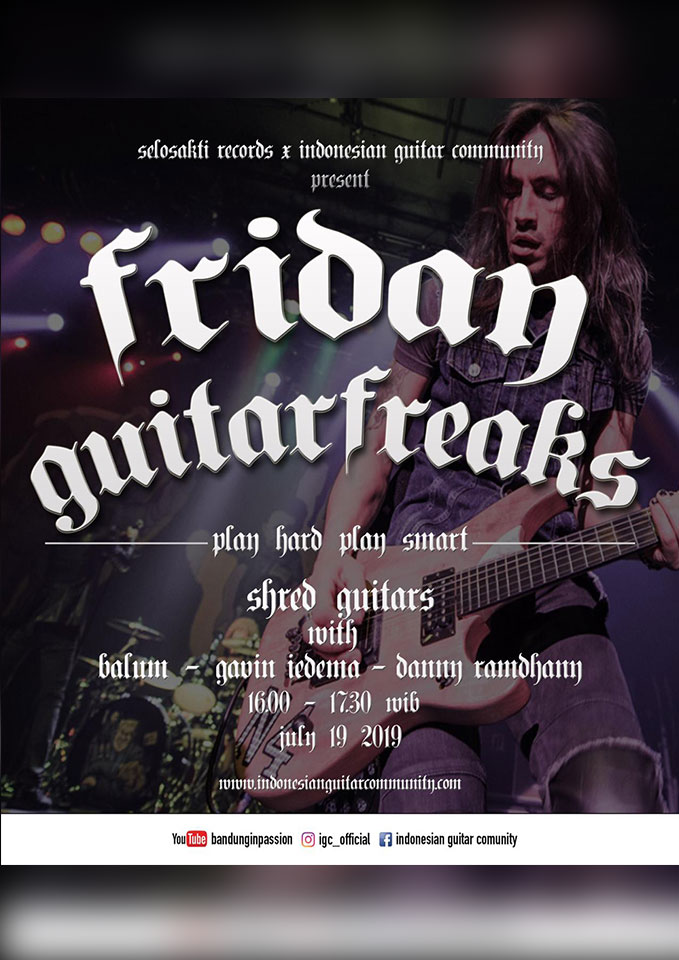 Selosakti Records x Indonesian Guitar Community present